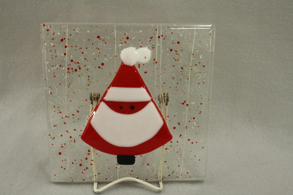 Triangle Santa at Roses Glassworks